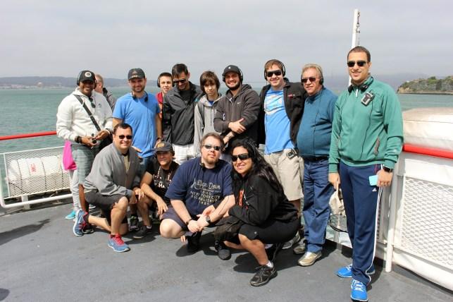 Foto do grupo do MM Tour IV