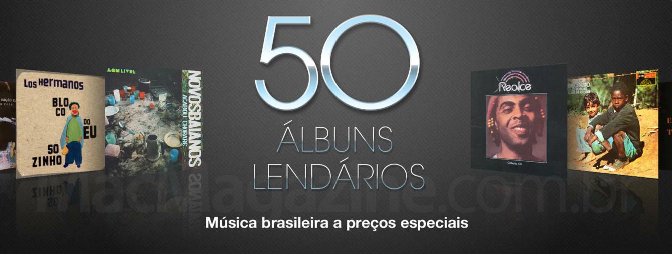 50 Álbuns Lendários na iTunes