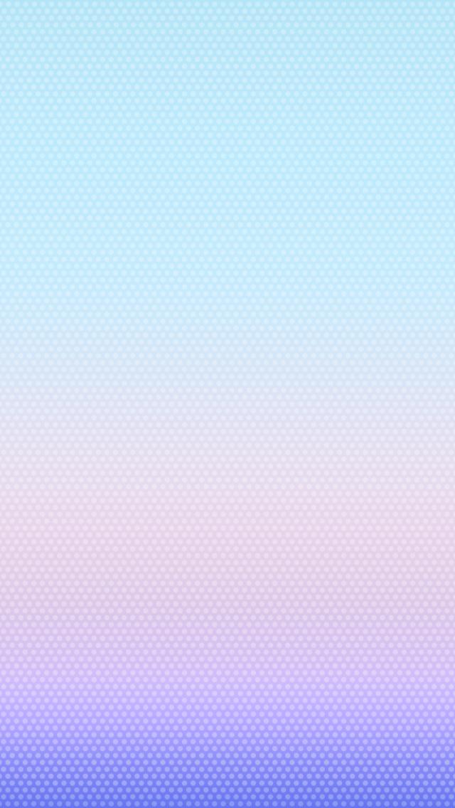 Wallpaper padrão do iOS 7