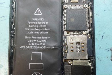 Suposto protótipo de iPhone 5S