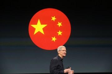 Tim Cook e China
