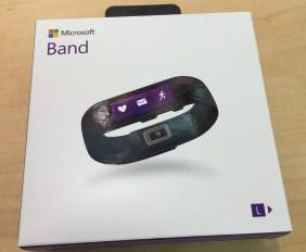 Microsoft Band - Caixa