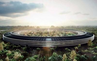 Render do Apple Campus 2