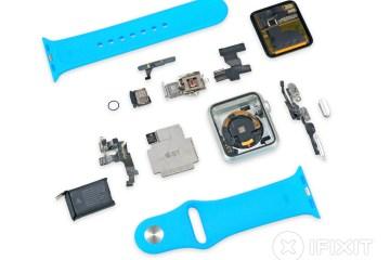 Apple Watch todo desmontado pela iFixit