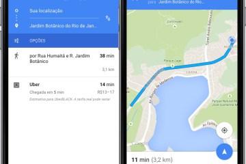 App Google Maps para iOS