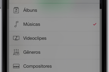 Modo offline do Apple Music