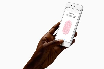 Touch ID no iPhone 6s