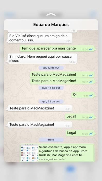 Update do WhatsApp Messenger