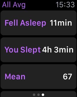 Review do app Sleep Pulse para Apple Watch