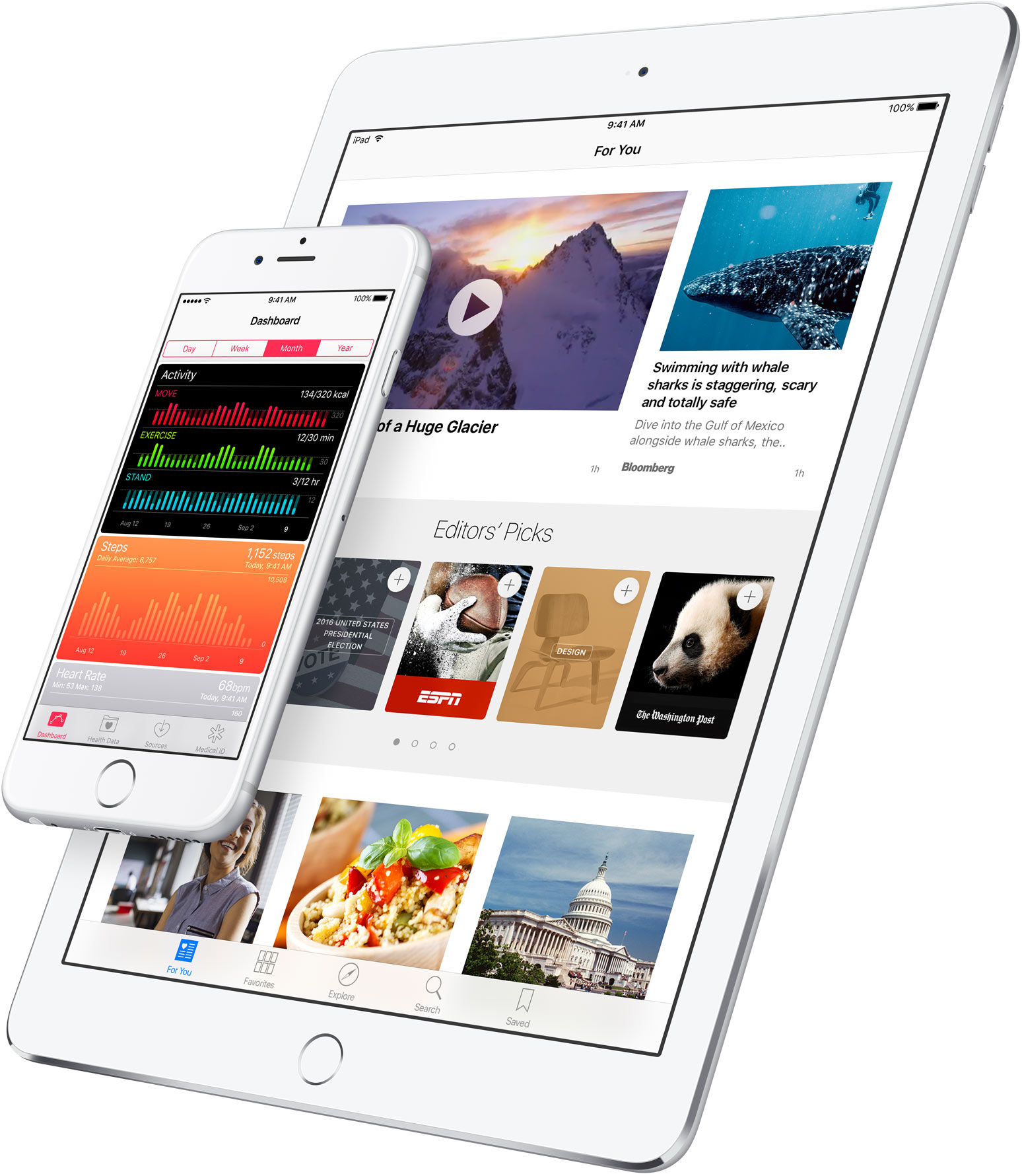 iOS 9.3 no iPad e no iPhone