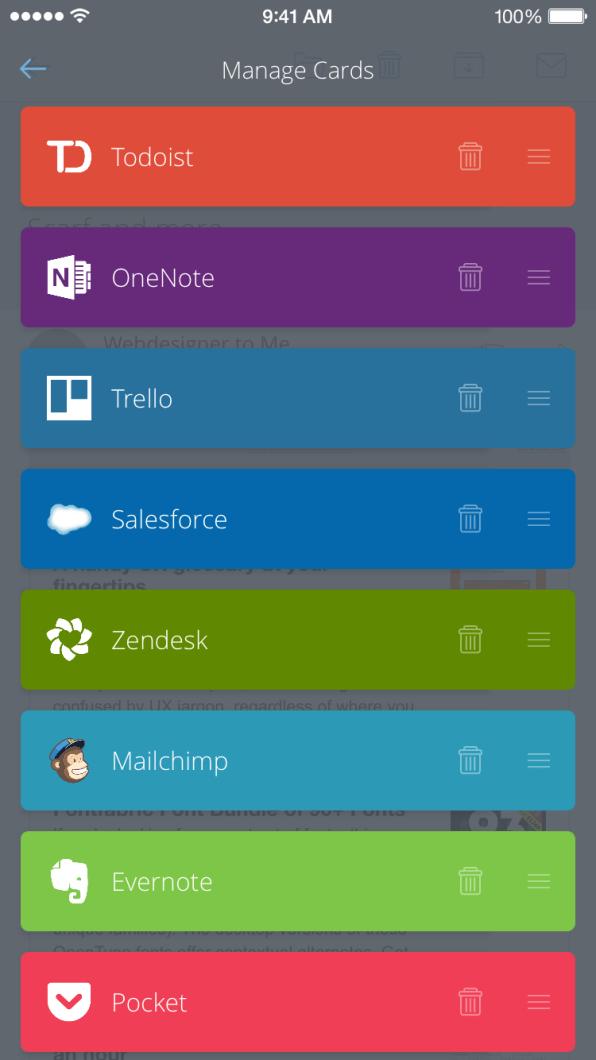 CloudMagic para iOS