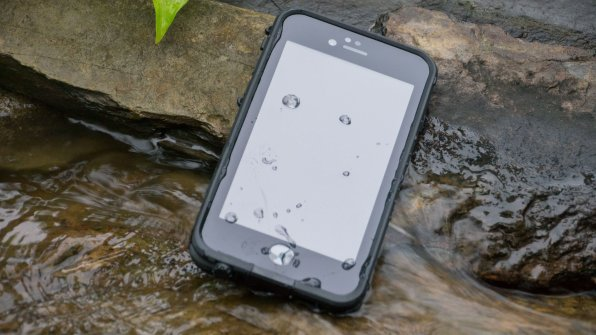 Capa FRĒ à prova d'água para iPhones, da LifeProof