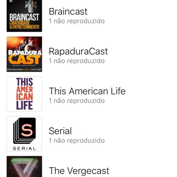 App Podcasts para iPhone no iOS 9
