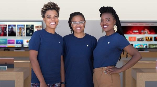 Diversidade na Apple em 2016