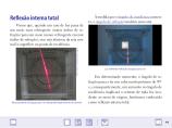 Livro acadêmico no iPad
