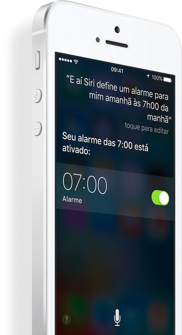 """Recurso """"E aí Siri"""" no iPhone SE"""