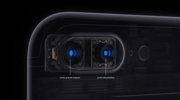 Câmeras do iPhone 7 Plus