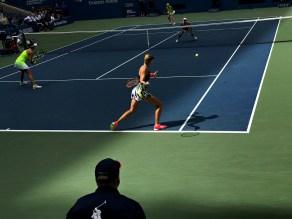 Foto do US Open tirada com um iPhone 7 Plus