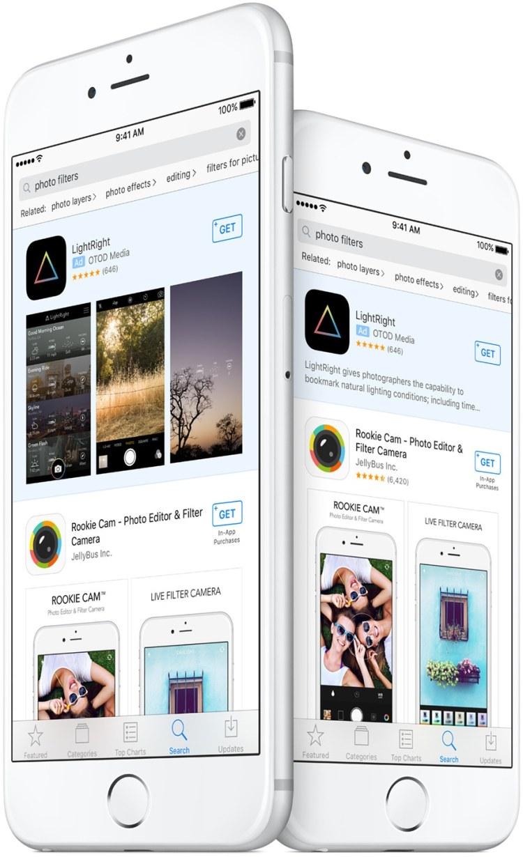 Search Ads da App Store em iPhones