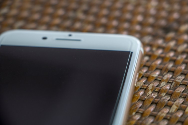 Película de vidro temperado para iPhone 7, da HPrime
