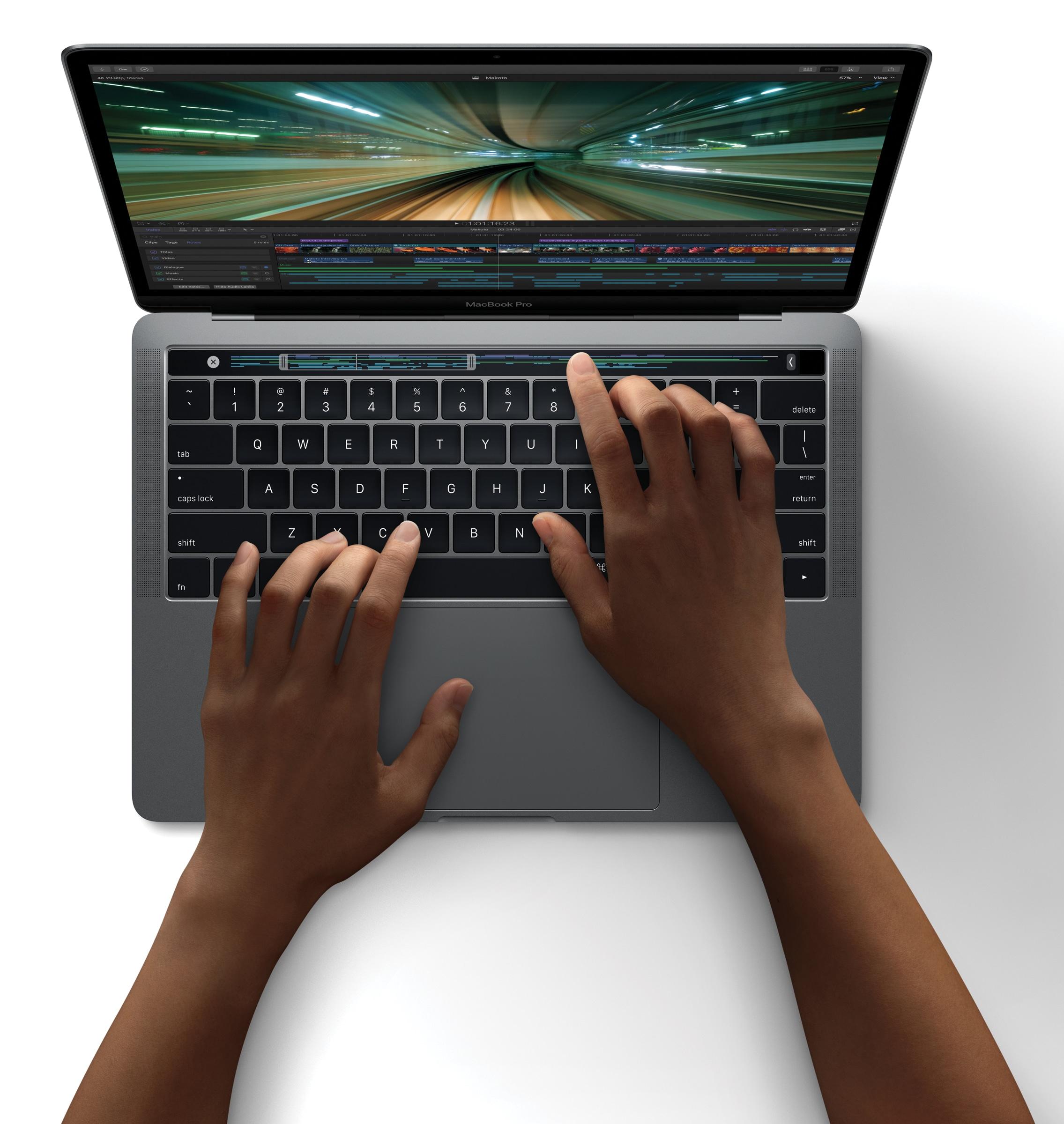 Novo Final Cut Pro X no novo MacBook Pro