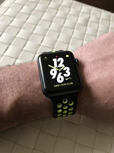 Mostradores exclusivos do Apple Watch Nike+