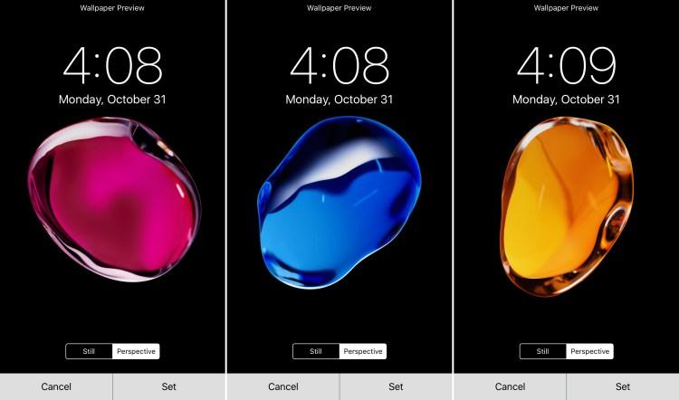 Novidades do iOS 10.2 (imagens de fundo)