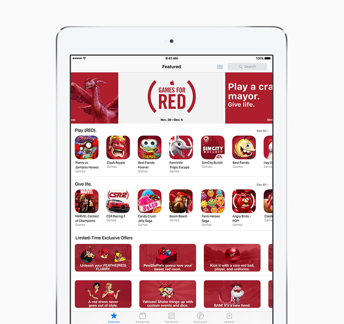 App Store (RED)