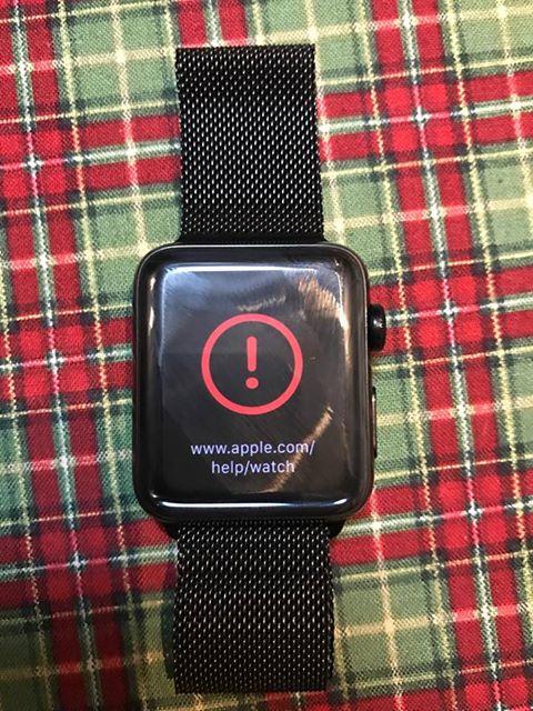 Apple Watch com problema ao atualizar para o watchOS 3.1.1