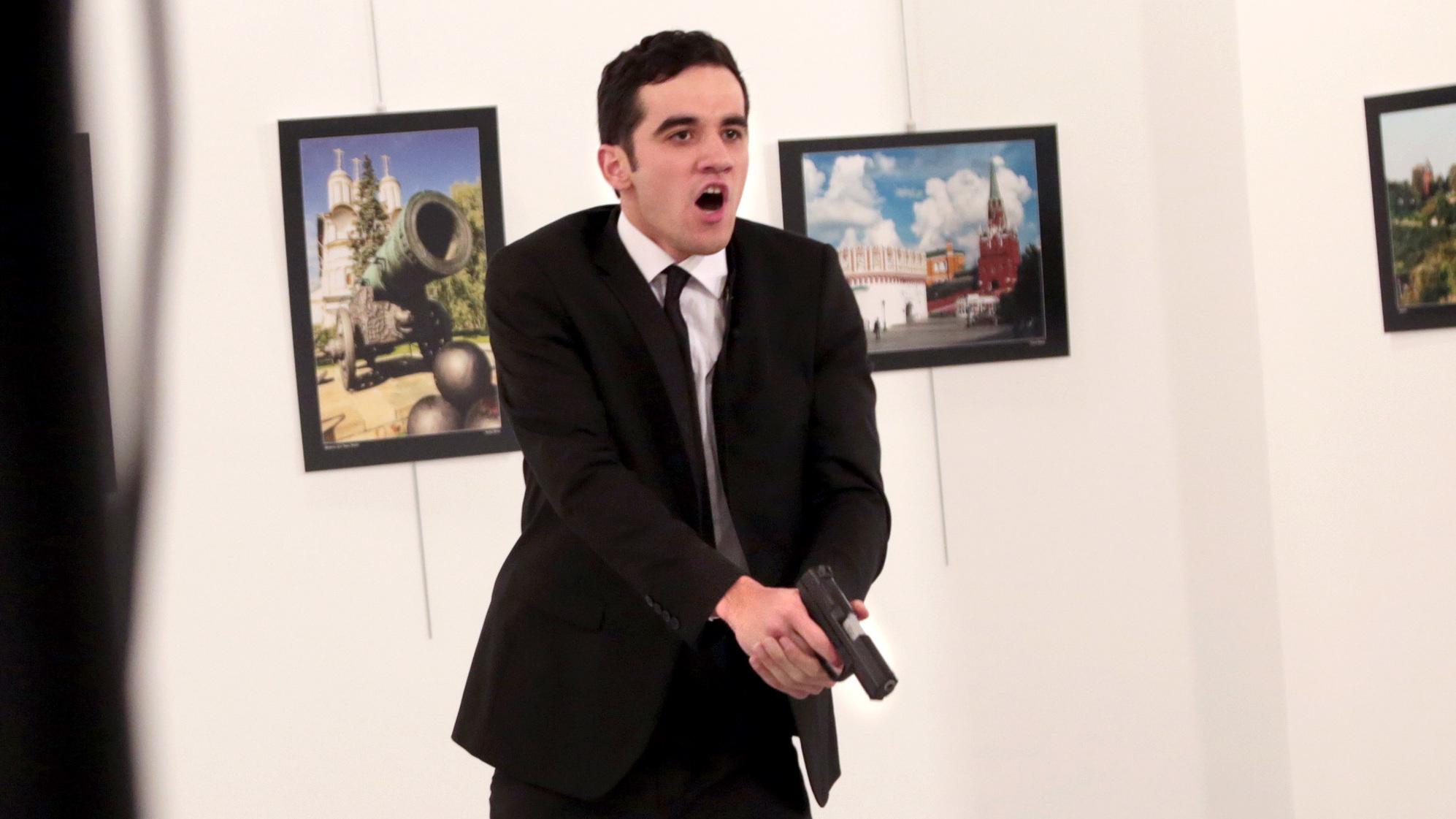 Mevlut Mert Altıntas, assassino do embaixador russo na Turquia Andrei Karlov