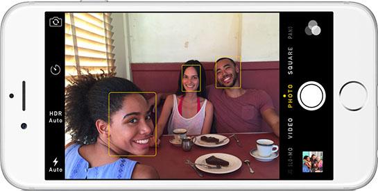 iPhone reconhecimento facial