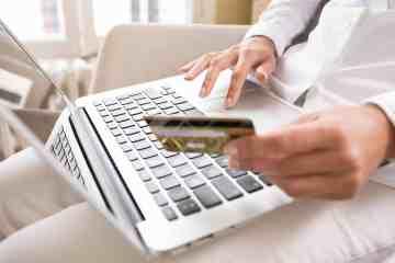 Fazendo compras online