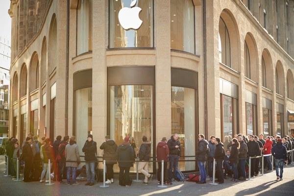 Apple Schildergasse na Alemanha