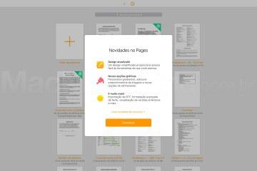Pages atualizado no iCloud.com