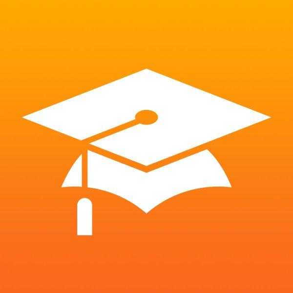Ícone do app iTunes U para iOS