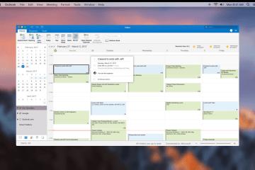 Preview do Outlook para Mac com suporte ao Google Agenda e Contatos