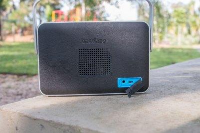 Caixa de som Bluetooth à prova d'água Blade-X, da Trendwoo