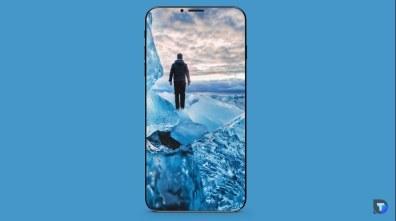 """Conceito do """"iPhone 8"""" rodando apps"""