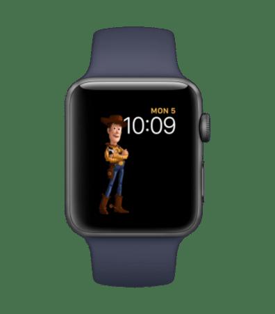Mostrador de Toy Story no watchOS 4