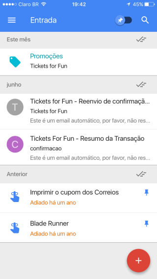 Inbox, do Google