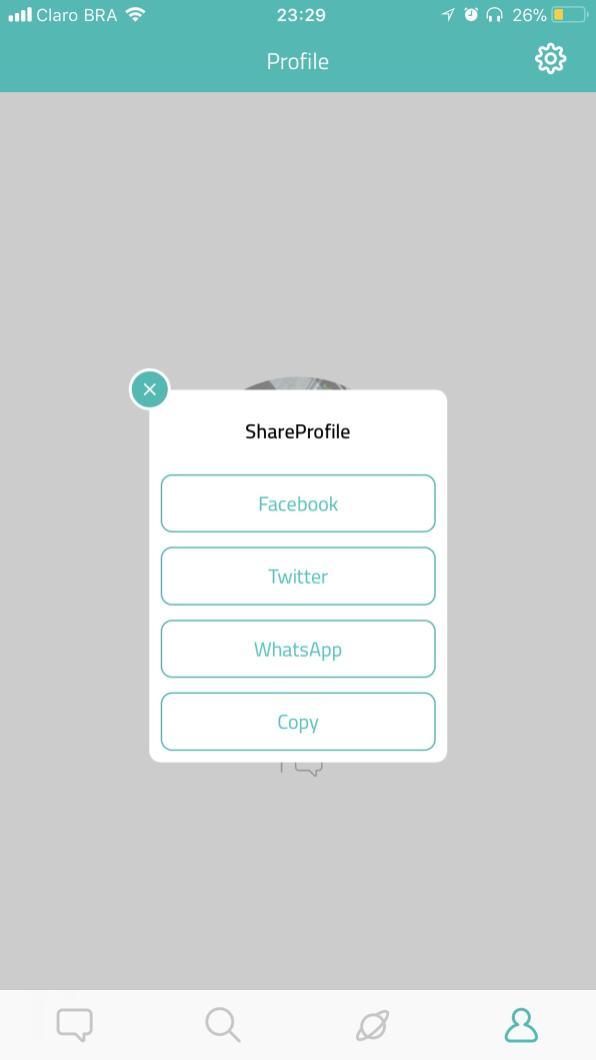 App Sarahah para iOS