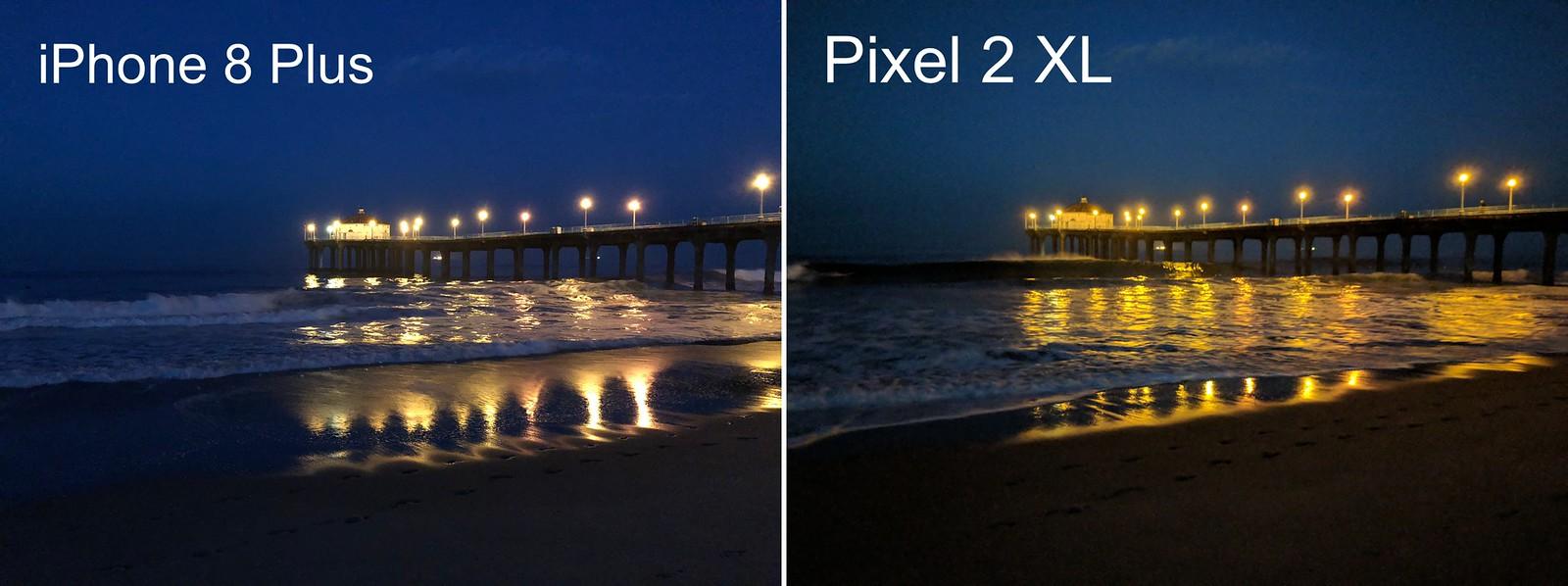 Comparativo de câmeras entre iPhone 8 Plus e Google Pixel 2