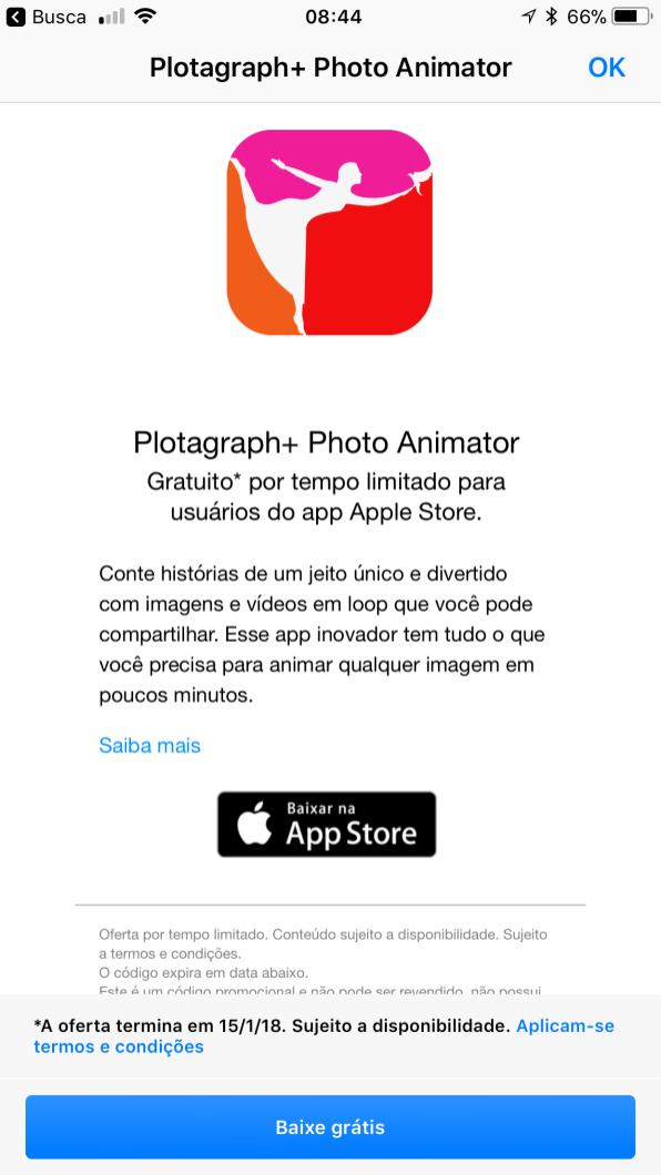 Plotagraph+ Photo Animator no app Apple Store