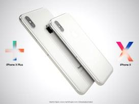 Conceito de iPhone X Plus