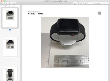 Acessório para o Apple Watch na Anatel