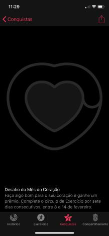 Desafio do Mês do Coração