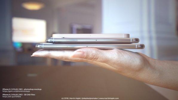 Render de iPhone X Plus