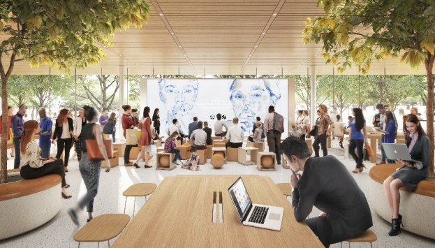 Futura loja da Apple em Estocolmo