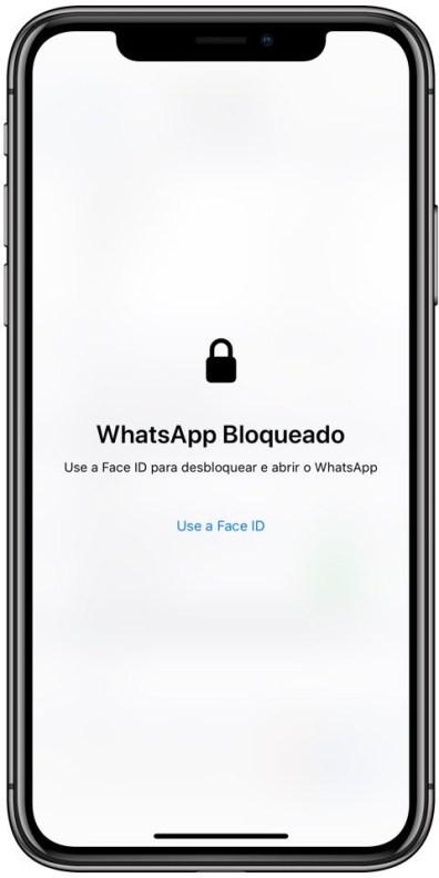 WhatsApp com Face ID