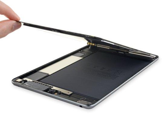 Desmontagem do iPad mini de quinta geração pela iFixit